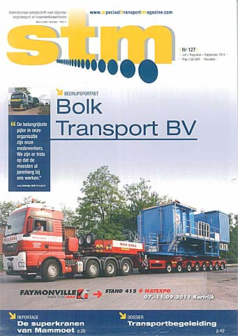 Speciaal transport magazine